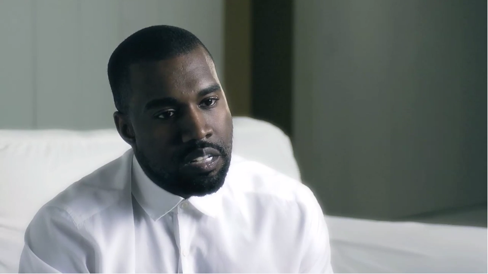 kanye interview screenshot