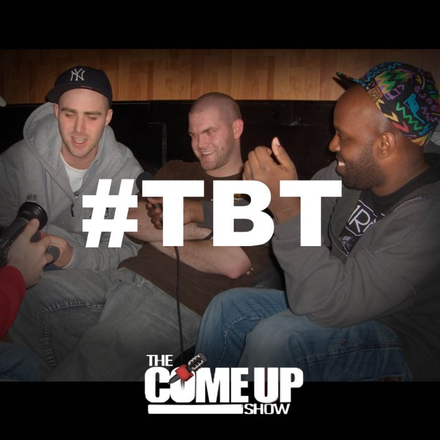 The Come Up Show Podcast - Shad and Classified