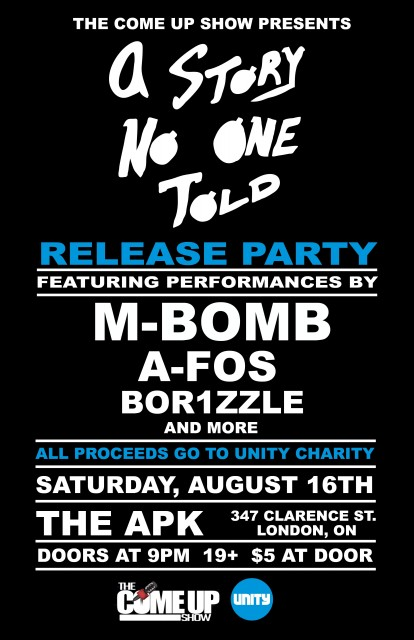 A Story No One Told Release Party