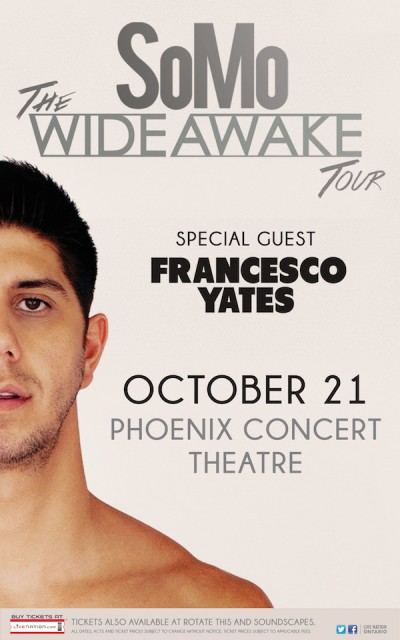 Somo Wide Awake Tour Toronto