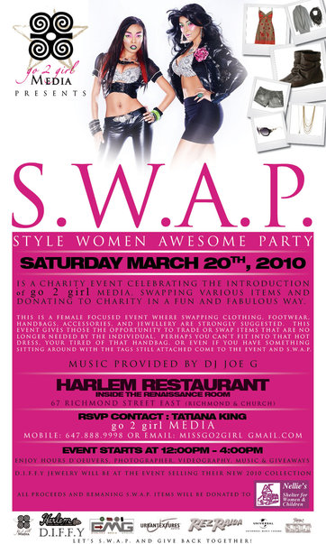 S.W.A.P. Flyer