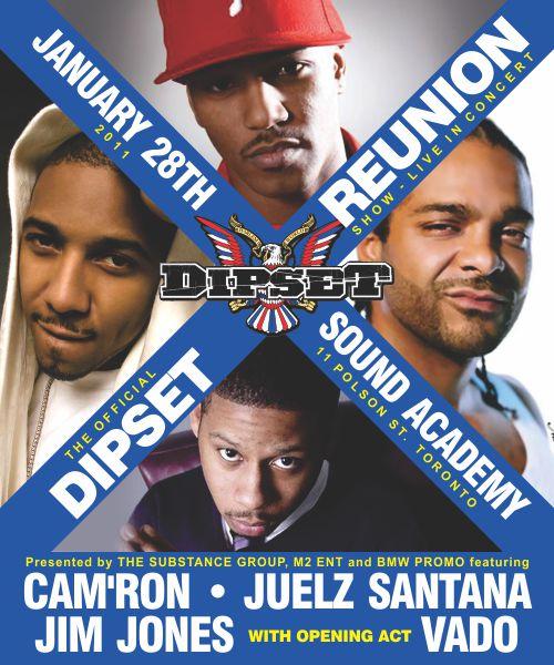 Dipset Reunion Tour August