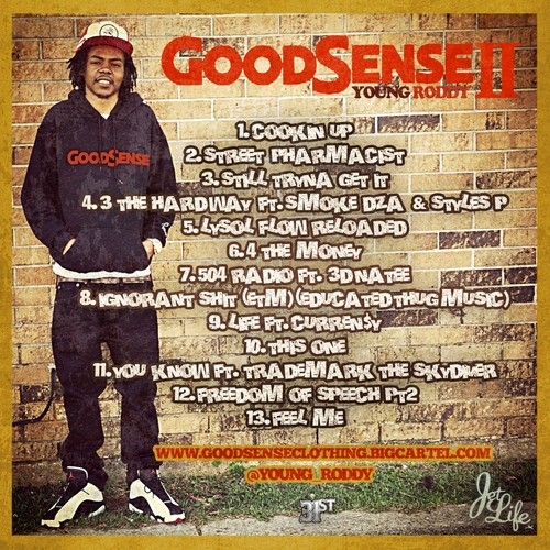 young roddy good sesne 2 back
