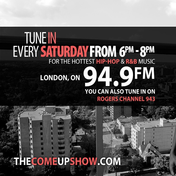 the come up show radio poster