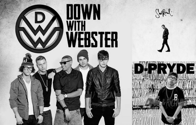 "Down With Webster w: Sonreal + D-Pryde ""WinTour"""