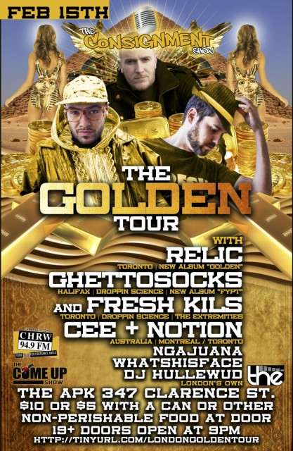 The Golden Tour at The APK