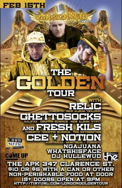 The Golden Tour at The APK