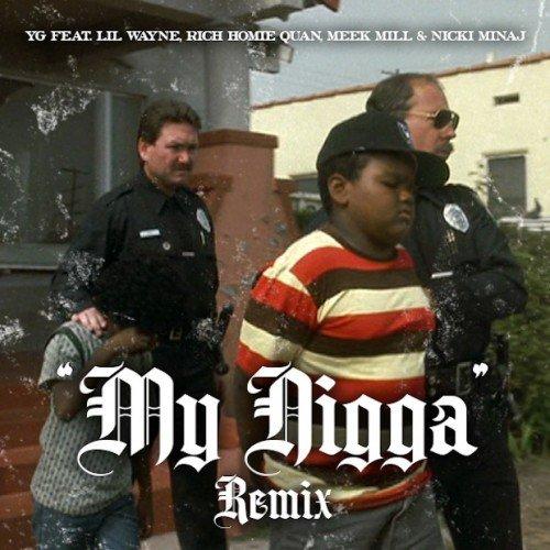 My Niggas YG, Lil Wayne, Nicki Minaj