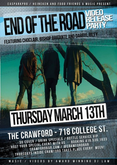 Choclair: End of the Road Video Release Party