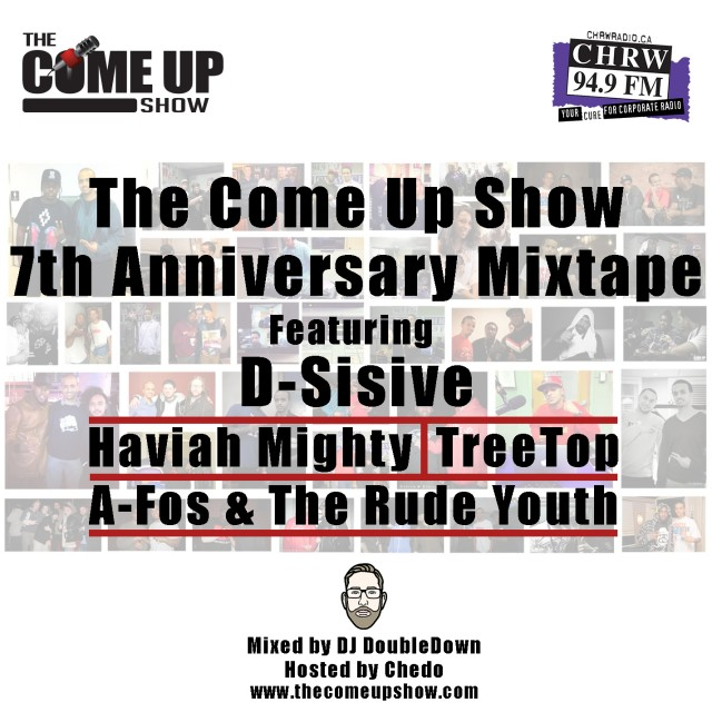 The Come Up Show 7th Year Anniversary Mixtape Front