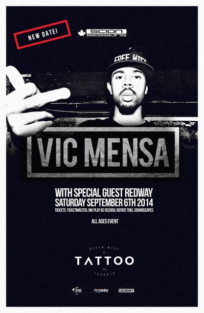 Vic Mensa Toronto Sept 2014