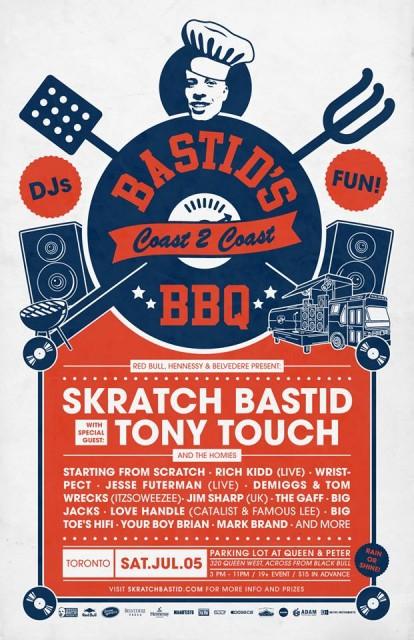 BASTID'S BBQ 2014