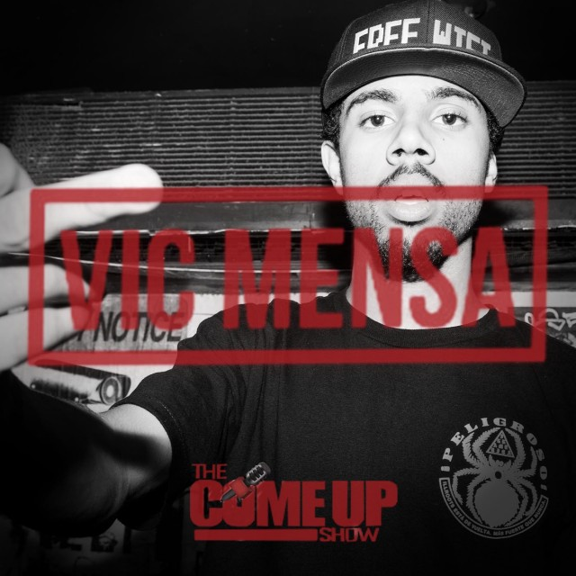 Vic Mensa Podcast on The Come Up Show