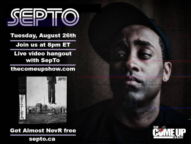 SepTo Live on The Come Up Show TV