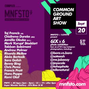 MNFSTO Art Show